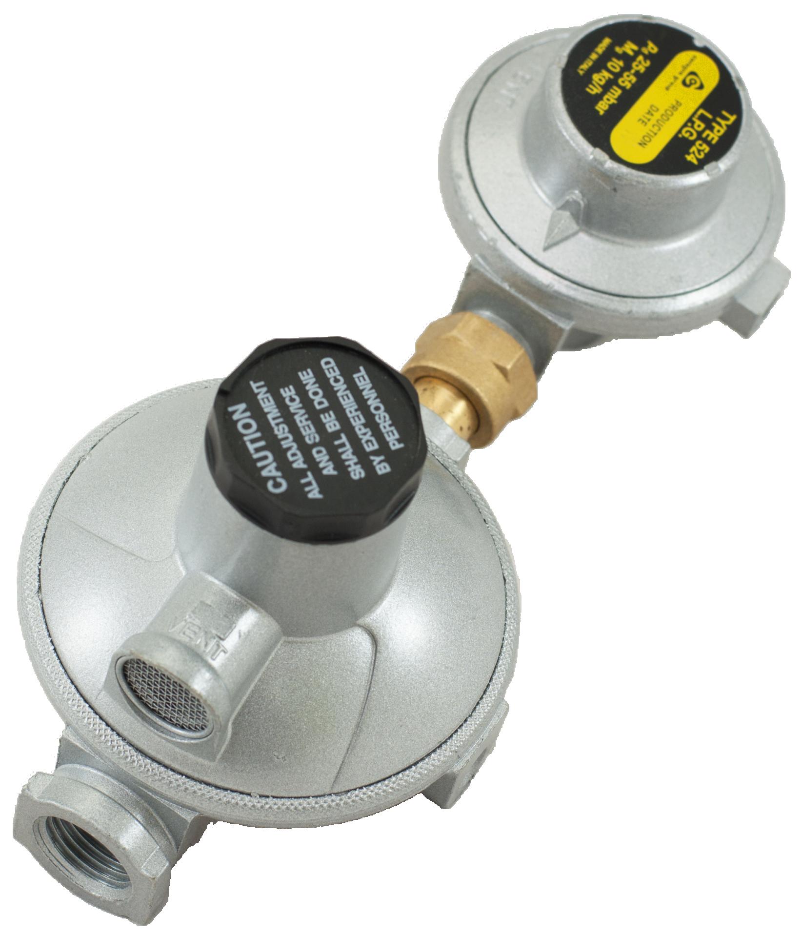 кран регулятор давления газа