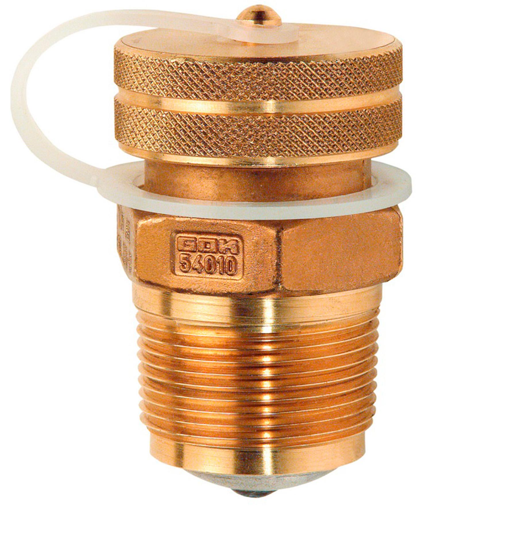 Вентиль паровой фазы для емкости сжиженного газа тип 55212 AG 3/4 NPT x IG POL PS25бар ПТ430мм